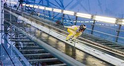21.02.2015, Lugnet Ski Stadium, Falun, SWE, FIS Weltmeisterschaften Ski Nordisch, Skisprung, Herren, Finale, im Bild Roman Koudelka (CZE) // Roman Koudelka of Czech Republic during the Mens Skijumping Final of the FIS Nordic Ski World Championships 2015 at the Lugnet Ski Stadium, Falun, Sweden on 2015/02/21. EXPA Pictures © 2015, PhotoCredit: EXPA/ JFK