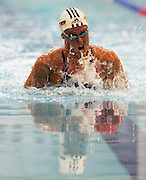 Zoe Baker competes in the Women's 50m Breaststoke semi final at the New Zealand Swimming World Championship Trials at the West Aquatic Centre, Auckland, New Zealand, on Wednesday 13 December 2006. Photo: Michael Bradley/PHOTOSPORT