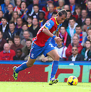 Picture by David Horn/Focus Images Ltd +44 7545 970036<br /> 26/10/2013<br /> Marouane Chamakh of Crystal Palace during the Barclays Premier League match at Selhurst Park, London.
