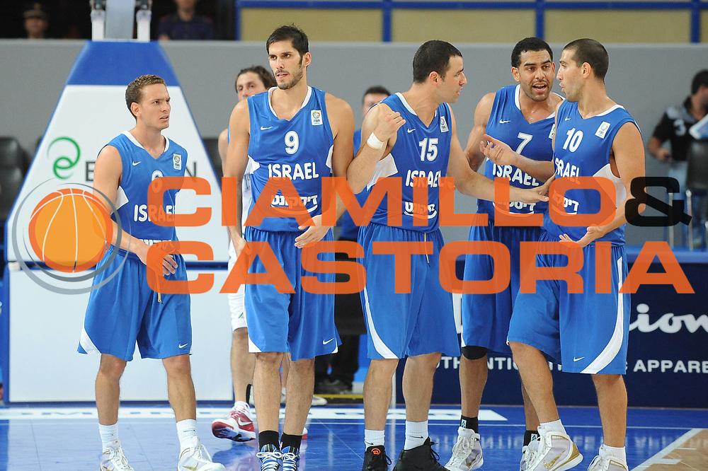 DESCRIZIONE : Bari Qualificazioni Europei 2011 Italia Israele<br /> GIOCATORE : Team Israele<br /> SQUADRA : Israele<br /> EVENTO : Qualificazioni Europei 2011<br /> GARA : Italia Israele<br /> DATA : 02/08/2010 <br /> CATEGORIA : ritratto<br /> SPORT : Pallacanestro <br /> AUTORE : Agenzia Ciamillo-Castoria/GiulioCiamillo<br /> Galleria : Fip Nazionali 2010 <br /> Fotonotizia : Bari Qualificazioni Europei 2011 Italia Israele<br /> Predefinita :