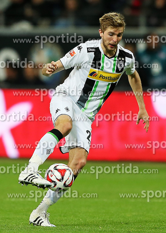 17.04.2015, Commerzbank Arena, Frankfurt, GER, 1. FBL, Eintracht Frankfurt vs Borussia Moenchengladbach, 29. Runde, im Bild vl. Christoph Kramer (Borussia Moenchengladbach) Freisteller // during the German Bundesliga 29th round match between Eintracht Frankfurt vs Borussia Moenchengladbach at the Commerzbank Arena in Frankfurt, Germany on 2015/04/17. EXPA Pictures &copy; 2015, PhotoCredit: EXPA/ Eibner-Pressefoto/ Voelker<br /> <br /> *****ATTENTION - OUT of GER*****