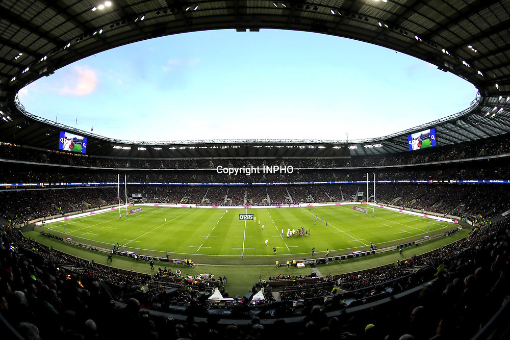 RBS 6 Nations Championship Round 1, Twickenham, London, England 4/2/2017<br /> England vs France<br /> A view of the game<br /> Mandatory Credit &copy;INPHO/Morgan Treacy