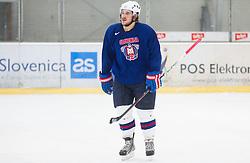 Gasper Kopitar during practice session of Slovenian Ice Hockey National Team for IIHF World Championship in Sweden and Finland, on March 28, 2013, in Arena Zlato Polje, Kranj, Slovenia. (Photo by Vid Ponikvar / Sportida.com)