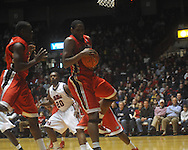 """at the C.M. """"Tad"""" Smith Coliseum in Oxford, Miss. on Saturday, January 15, 2011. Georgia won 98-76.  (AP Photo/Oxford Eagle, Bruce Newman)"""