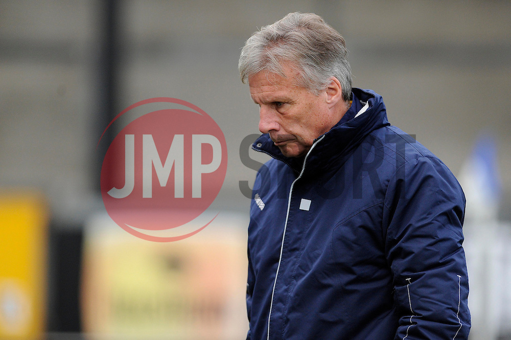 Bristol Rovers Manager, John Ward - Photo mandatory by-line: Dougie Allward/JMP - Tel: Mobile: 07966 386802 07/12/2013 - SPORT - Football - Bristol - Memorial Stadium - Bristol Rovers v Crawley Town - FA Cup - Second Round