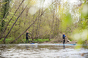 Paddling Loch Ness in Scotland with Terri Bryce, Mitch Bechard, Jon Arman and Will Taylor for SUP the Mag.