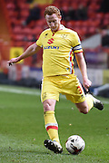 Milton Keynes Dons defender Dean Lewington during the Sky Bet Championship match between Charlton Athletic and Milton Keynes Dons at The Valley, London, England on 8 March 2016. Photo by Martin Cole.