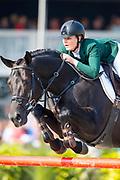 Jessica Burke - Castlelawn Captain Junior<br /> FEI WBFSH World Breeding Jumping Championships for Young Horses 2017<br /> © DigiShots
