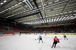 View on Arena Podmezakla during Ice Hockey match between HDD SIJ Acroni Jesenice and Rittner Buam in 2nd Semifinal of Alpine League 2017/18 on March 24, 2018 in Arena Podmezakla, Jesenice, Slovenia. Photo by Urban Urbanc / Sportida