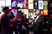 Chef Evan Funké is interviewed