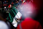 October 29, 2016: Mexican Grand Prix. Mexican flag