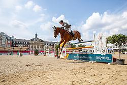 BEERBAUM Markus (GER), CARLITO'S WAY 6<br /> Münster - Turnier der Sieger 2019<br /> Preis des EINRICHTUNGSHAUS OSTERMANN, WITTEN<br /> CSI4* - Int. Jumping competition  (1.45 m) - <br /> 1. Qualifikation Mittlere Tour<br /> Medium Tour<br /> 02. August 2019<br /> © www.sportfotos-lafrentz.de/Stefan Lafrentz