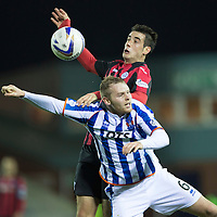 Kilmarnock v St Johnstone...06.12.14   SPFL<br /> Brian Graham and Mark Connolly<br /> Picture by Graeme Hart.<br /> Copyright Perthshire Picture Agency<br /> Tel: 01738 623350  Mobile: 07990 594431
