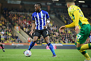 Sheffield Wednesday midfielder Joshua Onomah (7) during the EFL Sky Bet Championship match between Norwich City and Sheffield Wednesday at Carrow Road, Norwich, England on 19 April 2019.