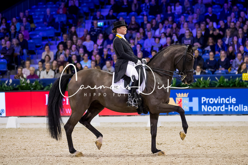 Werth Isabell, GER, Weihegold OLD<br /> FEI World Cup Dressage - Grand Prix<br /> Jumping Amsterdam 2017<br /> &copy; Hippo Foto - Leanjo de Koster<br /> 27/01/17