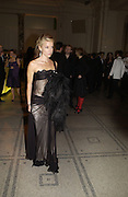 DAPHNE GUINNESS, British Fashion awards 2005. V. & A. Museum. Cromwell Rd. London.   10  November 2005 . ONE TIME USE ONLY - DO NOT ARCHIVE © Copyright Photograph by Dafydd Jones 66 Stockwell Park Rd. London SW9 0DA Tel 020 7733 0108 www.dafjones.com