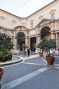 Rome, Vatican Museums, Cortile Ottagono