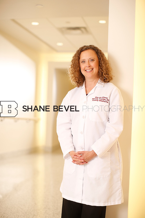 5/28/15 4:23:19 PM -- Dr. Renee Frenier of Saint Francis Health System poses for a portrait for the 2015 Advertising Campaign. <br /> <br /> Photo by Shane Bevel