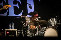 June 17, 2018 - Landgraaf, Limburg, Netherlands - Danny Wagner of Greta Van Fleet performing live at Pinkpop Festival 2018 in Landgraaf, Netherlands,on 17 June 2018. (Credit Image: © Roberto Finizio/NurPhoto via ZUMA Press)