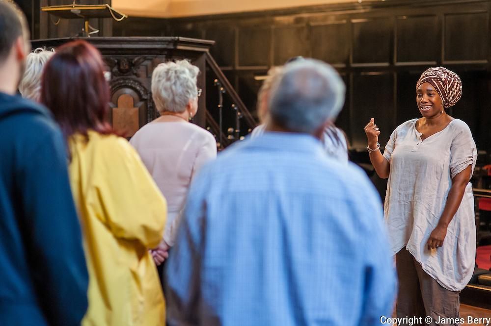 Gospel Workshop. Gresham Centre.
