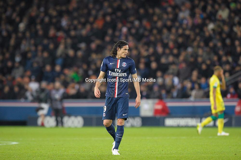 Edinson Cavani - 06.12.2014 - PSG / Nantes - 17eme journee de Ligue 1<br />Photo : Andre Ferreira / Icon Sport