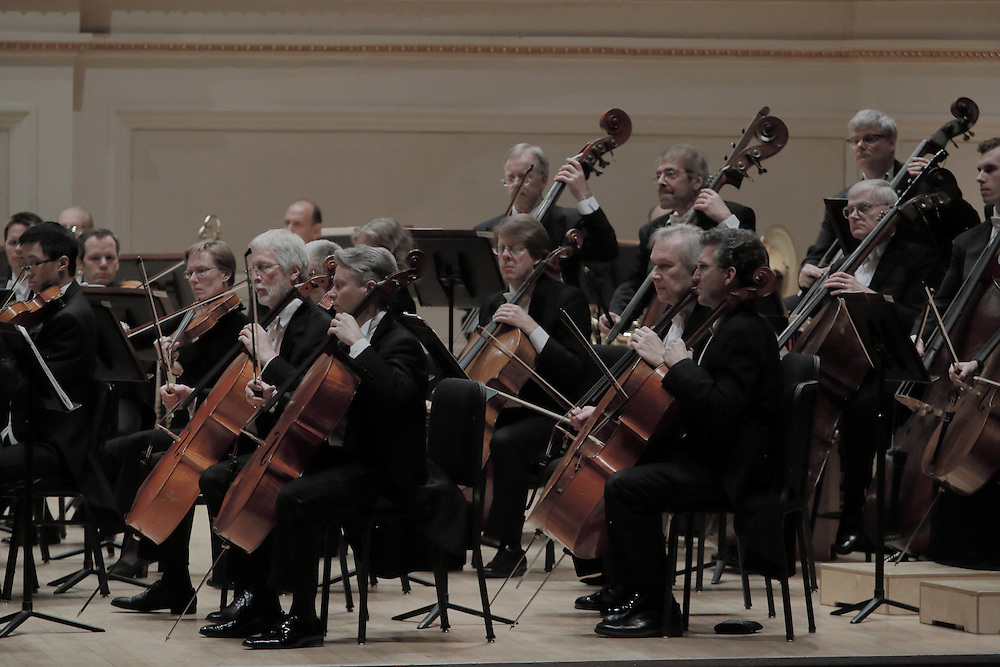 Riccardo Muti leads the Chicago Symphony Orchestra at Carnegie Hall