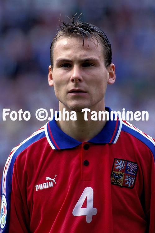 UEFA European Champioship - England 1996.Pavel Nedved - Czech Republic.©JUHA TAMMINEN