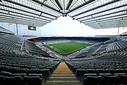 St James' Park ahead of the Premier League match between Newcastle United and Brighton and Hove Albion at St. James's Park, Newcastle, England on 30 December 2017. Photo by Craig Doyle.