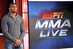 Feb 10, 2011; Bristol, CT, USA; Alistair Overeem visits the ESPN Headquarters in Bristol, CT.