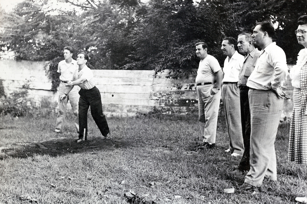 company sports and recreation day USA 1940s
