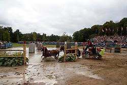 Voutaz Jérome, SUI, Belle du Peupe CH, Eva III CH, Flore CH, Folie des Moulins CH, Leon<br /> FEI European Driving Championships - Goteborg 2017 <br /> © Hippo Foto - Dirk Caremans<br /> 26/08/2017,