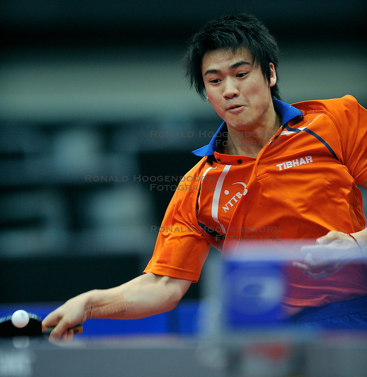 09-05-2011 TAFELTENNIS: WORLD TABLE TENNIS CHAMPIONSHIPS: ROTTERDAM<br /> Wai Lung Chung NED<br /> &copy;2011-FotoHoogendoorn.nl