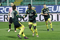 esultanza gol Mbaye Niang<br /> Palermo 03/02/2016 Stadio Barbera Football Calcio Serie A 2015/2016 Palermo Milan . Foto Daniele Buffa / Image Sport / Insidefoto