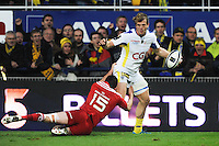 Aurelien ROUGERIE - 14.12.2014 - Clermont / Munster - European Champions Cup <br /> Photo : Jean Paul Thomas / Icon Sport