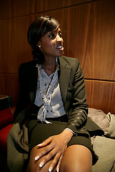 UK ENGLAND LONDON 18NOV08 - Angela Dennis, a marketing professional attends a teacher recruitment fair at the Marriott hotel in Canary Wharf on November 18, 2008 in London, England. Online enquiries into teacher recruitment have increased by 40 percent from 2007 to 2008 for the period from September 1 to October 31 2008...jre/Photo by Jiri Rezac..© Jiri Rezac 2008..Contact: +44 (0) 7050 110 417.Mobile:  +44 (0) 7801 337 683.Office:  +44 (0) 20 8968 9635..Email:   jiri@jirirezac.com.Web:     www.jirirezac.com..© All images Jiri Rezac 2008 - All rights reserved.
