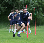 Dundee&rsquo;s Cammy Kerr during the warm up - Dundee FC pre-season training at Michelin Grounds, Dundee, Photo: David Young<br /> <br />  - &copy; David Young - www.davidyoungphoto.co.uk - email: davidyoungphoto@gmail.com