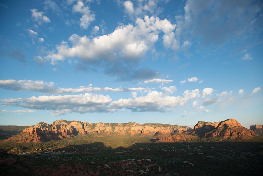 Sedona Landscape with Blue Sky<br /> Airport Vortex<br /> Sedona Arizona