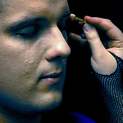 Joel makeup, Brisbane, Australia (November 2002)