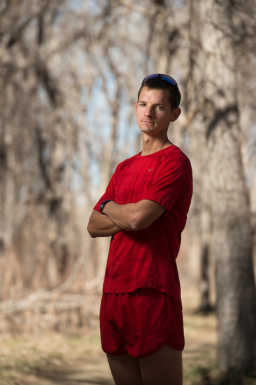 DENVER, CO - JANUARY 14: Eric Eisinger poses for a portrait at Cherry Creek State Park on March 14, 2016, in Denver, Colorado. (Photo by Daniel Petty/for the Catholic Foundation Alliance)