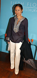 LILLIAN VON STAUFFENBERG at a party hosted by Elizabeth Saltzman and Harvey Nichols to celebrate the UK launch of New York fashion designer Tory Burch held at the Fifth Floor Restaurant, Harvey Nichols, Knightsbridge, London on 24th May 2006.<br /><br />NON EXCLUSIVE - WORLD RIGHTS