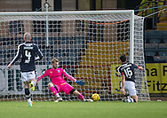Dundee&rsquo;s Julen Etxabeguren turns the ball into his own net for Partick Thistle's winner - Dundee v Partick Thistle in the Ladbrokes Scottish Premiership at Dens Park, Dundee.Photo: David Young<br /> <br />  - &copy; David Young - www.davidyoungphoto.co.uk - email: davidyoungphoto@gmail.com