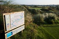 TEXEL - Hole 14 holebord. De Cocksdorp.  - Golfbaan De Texelse. COPYRIGHT KOEN SUYK