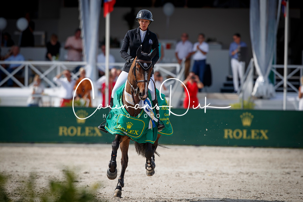 Patteet Gudrun, BEL, Sea Coast Pebbles Z<br /> Rolex Grand Prix CSI 5* - Knokke 2017<br /> &copy; Hippo Foto - Dirk Caremans<br /> 09/07/2017