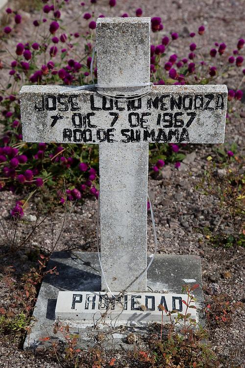 Mexican Cemetery 13 - Photograph taken in El Panteón Cementario, also know as Cementario Viejo or old cemetery, in Puerto Vallarta, Mexico.