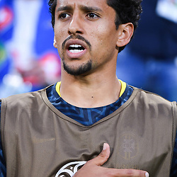 Marquinhos of Brazil during the FIFA World Cup Group E match between Serbia and Brazil on June 27, 2018 in Moscow, Russia. (Photo by Anthony Dibon/Icon Sport)