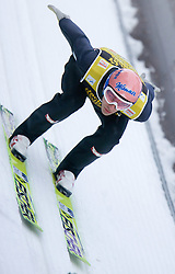 Andreas Kofler of Austria competes during Trial round of the FIS Ski Jumping World Cup event of the 58th Four Hills ski jumping tournament, on January 5, 2010 in Bischofshofen, Austria. (Photo by Vid Ponikvar / Sportida)