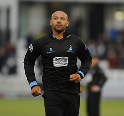 Sussex's Tymal Mills. - Mandatory by-line: Alex Davidson/JMP - 01/06/2016 - CRICKET - The 1st Central County Ground - Hove, United Kingdom - Sussex v Somerset - NatWest T20 Blast