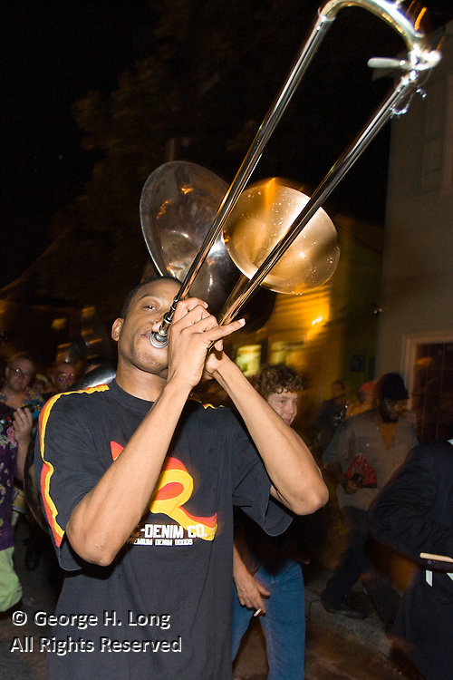 Trombone Shorty at 2006 Midsummer Mardi Gras at the Maple Leaf