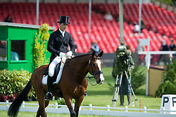 Bschorer Niklas, (GER), Tom Tom Go 3<br /> Dressage <br /> Mitsubishi Motors Badminton Horse Trials - Badminton 2015<br /> © Hippo Foto - Jon Stroud<br /> 07/05/15