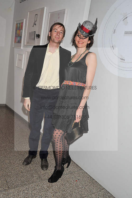 THOMASINA MIERS and MARK WILLIAMS at the Whitechapel Gallery Art Plus Opera gala in association with Swarovski held at the Whitechapel Gallery, London on 15th March 2012.